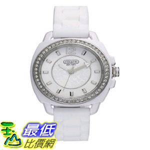 [103美國直購] 手錶 Coach Boyfriend Silicon Rubber Strap Watch 14501476 $5868