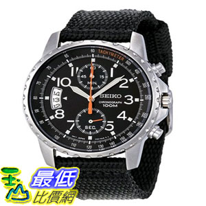 [103美國直購] 手錶 Seiko Mens SNN079P2 Cloth Strap Watch $4189