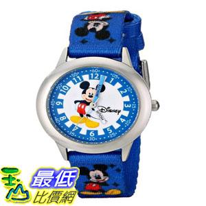 [103美國直購] 手錶 Disney Kids W000022 Time Teacher Stainless Steel $1258