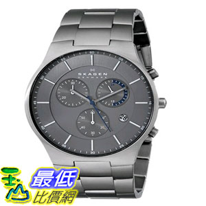 [103美國直購] 男士手錶 Skagen Mens SKW6077 Balder Titanium Watch with $9649