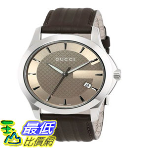 [103美國直購] 男士手錶 Gucci Mens YA126403 G-Timeless Brown Dial Brown $19897