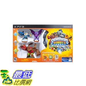 (美國代訂) PS3 Skylanders Giants Starter Kit 寶貝巨龍 初心者組合(美版) $2914