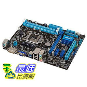 [美國直購] ASUS 主機板 DDR3 2400 Intel-LGA 1155 Motherboard P8B75-M LX PLUS $3100
