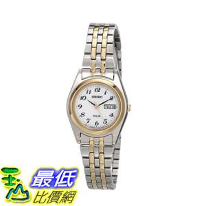 [2015 限量促銷款 美國直購] 雙音不鏽鋼手錶 Seiko Women's SUT116 Watch $4299