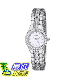 [2015 限量促銷款 美國直購] 水晶手錶 Bulova Women's 96T14 Crystal Watch $5701