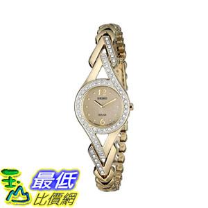 [2015 限量促銷款 美國直購] 施華洛世奇水晶不?鋼 Seiko Women's SUP176 Watch $5607