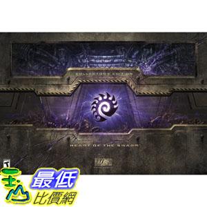 (美國代購)星海爭霸 2  StarCraft II: Heart of the Swarm Collector's Edition  典藏版