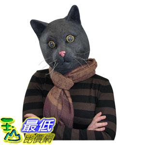 [103美國直購] Big Mouth 擬真動物面具 黑貓面具 頭套 Toys Black Jack The Cat Mask $989