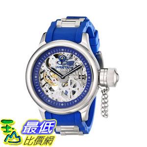 [103美國直購] 手錶 Invicta Mens 1089 Russian Diver Skeleton Analog Display Blue Watch