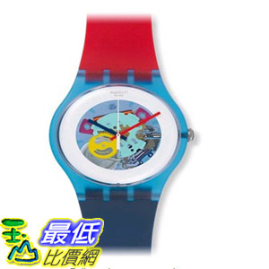 [104美國直購] 中性手錶 Swatch Color My Lacquered Rubber Unisex Watch SUOS101 $7070