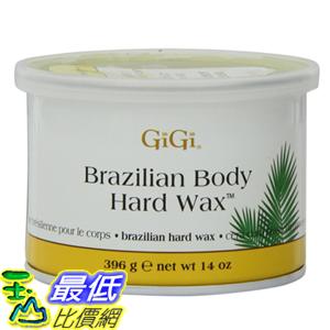 [104美國直購] 蜜蠟 硬蠟 GiGi Brazilian Body Hard Wax 14 Ounce