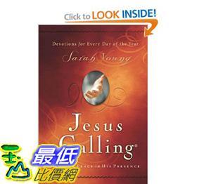 [美國直購]2012 美國秋季暢銷書排行榜Jesus Calling: Enjoying Peace in His Presence $640