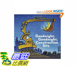 [美國直購]2012 美國秋季暢銷書排行榜Goodnight, Goodnight Construction Site$673