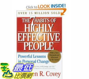 [美國直購]2012 美國秋季暢銷書排行榜The 7 Habits of Highly Effective People$643