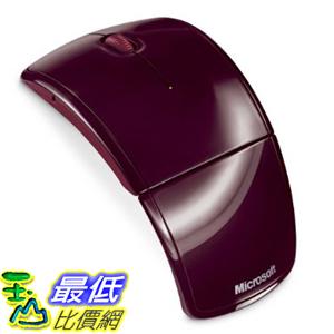 [美國直購 ShopUSA] Microsoft Arc Mouse - Red  zja-00002 紅色滑鼠 $1459