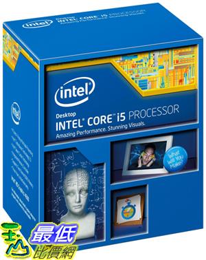 [美國直購 ] Intel 台式機處理器 Core i5-4670K Quad-Core Desktop Processor 3.4 GHZ 6 MB Cache - BX80646I54670K$9320