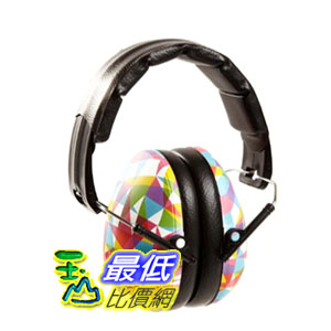 [104美國直購 2-12 歲適用] 新款 Baby Banz earBanZ Kids Hearing Protection, Geo Print, 2 -12+ YEARS 兒童防噪音耳罩