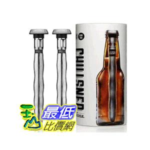 [104美國直購] Corkcicle Chillsner Beer Chiller, 2-Pack 啤酒冷卻器 啤酒冷凍柱 2入