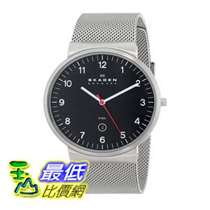 [104美國直購] Skagen 男士手錶 SKW6051 Ancher Silver-Tone Stainless Steel $4153