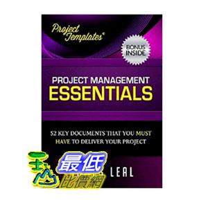 [104美國直購] PROJECT TEMPLATES? - 52 Essential Project Management Documents - CD ROM - Processes, Procedures, Strategies, Plans, & Forms - Lifetime Guarantee $2200