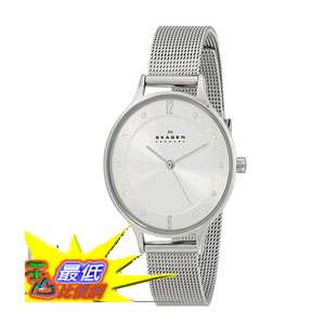 [104美國直購] 女士手錶 Skagen Women's SKW2149 Anita Stainless Steel Watch with Mesh Bracelet $4137