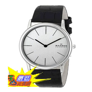[104美國直購] 男士手錶 Skagen Men's 858XLSLC Theodor Quartz 2 Hand Stainless Steel Black Watch $4137
