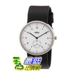 [美國直購] Braun Men's BN0024WHBKG Classic Analog Display Quartz Black Watch 德國百靈 男士 腕錶 手錶 $6942