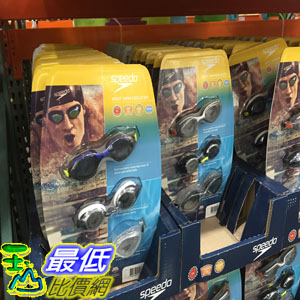[104限時限量促銷] COSCO SPEEDO ADULT GOGGLES 3PK 成人泳鏡三入組 _C891564 $658