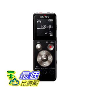 [104美國直購] Sony ICD-UX543F Digital Voice Recorder (4GB) 黑色/粉紅 兩色 錄音筆 $4548