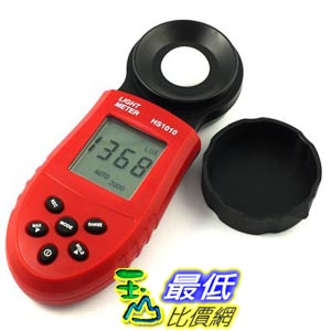 [玉山最低比價網] HS1010數字式照度計 亮度計 測光表 光度計 測光儀 環境測試儀器 讀值鎖定功能 數位式照度計 亮度計 照明測試儀器 (_p407) $488