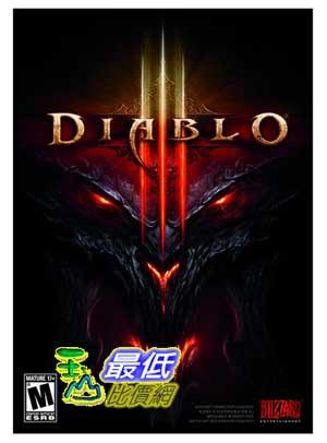 (美國代訂) 美版 PC 暗黑破壞神 III 暗黑破壞神 3 Diablo 3 $1460