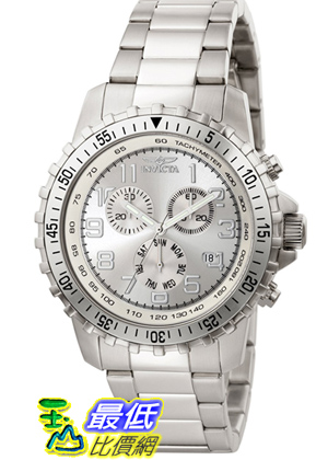 [美國直購 ShopUSA] Invicta 手錶 Men's 6620 II Collection Chronograph Stainless Steel Silver Dial Watch 手錶