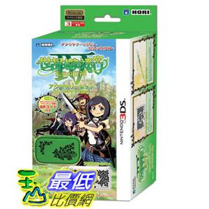 [現金價] 3DS  HORI 世界樹的迷宮4 配件包 內含主機包 保護殼 觸控筆 3DS-121_BAO $430