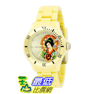[美國直購 ShopUSA] Ed Hardy Watches VIP Color: Lime Yellow 手錶  $1881