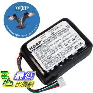 [美國直購ShopUSA] 收音機 HQRP Battery compatible with Logitech Squeezebox X-R0001 Radio plus HQRP Coaster  $1353