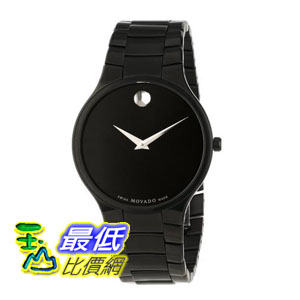 [美國直購 ShopUSA] Movado 手錶 Black Dial Black IP Stainless Steel Unisex Watch 0606594 bfy $29960
