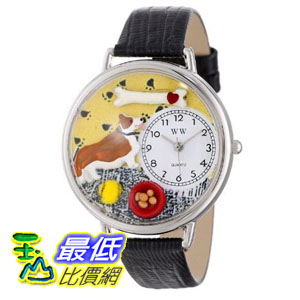 [美國直購 ShopUSA] 手錶 Whimsical Watches Unisex Corgi in Silver Watch U0130029 $1957