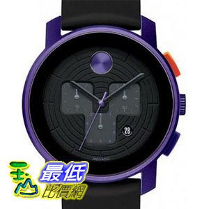 [美國直購 ShopUSA] Movado Bold Chronograph 手錶 Purple Aluminum Unisex Watch 3600169 bfy $17733