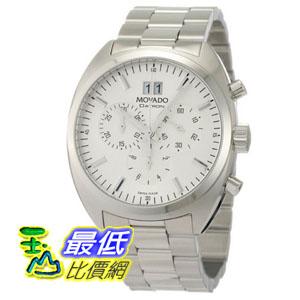 [美國直購 ShopUSA] Movado Datron Chronograph Stainless Steel 手錶 Silver Dial Mens Watch 0606477 bfy $29262