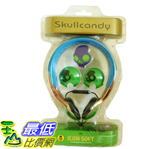 [104美國直購] Icon Soft Mic'd Over 耳機 Ear Headphones in Electric Animal by SkullCandy $1123