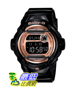 [103 美國直購 ShopUSA] Casio Women's BG169G-1 Baby G Black Watch 凱西歐手錶
