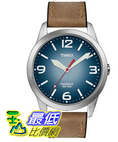 [103 美國直購 ShopUSA] Timex 手錶 Men's Watch T2N631 Classic Casual Brown Leather Strap _mr