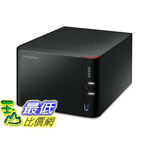 [104美國直購] BUFFALO B00Q7VC8KQ 1400 4-Bay 8 TB RAID 網路附加存儲器 (TS1400D0804) $26993