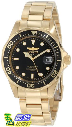 [103 美國直購 ShopUSA] Invicta 手錶 Men's INVICTA-8936 Pro Diver Collection 23k Gold Plated Watch