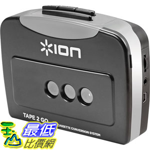 [103 美國直購 ShopUSA] ION 播放器 Tape 2 Go Cassette Player and Converter with USB $1265