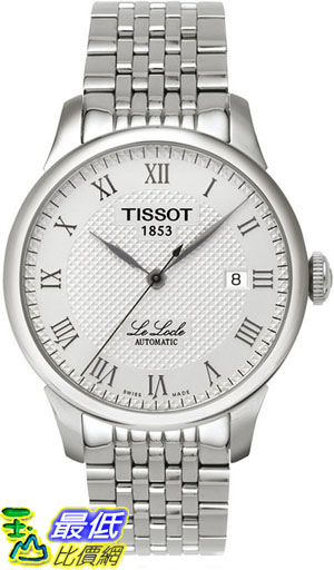 [103 美國直購 ShopUSA] Tissot 手錶 Men's T41148333 Le Locle Silver Textured Dial Watch $18608