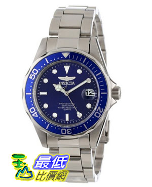 [103 美國直購 ShopUSA] Invicta 手錶 Men's 9204 Pro Diver Collection Silver-Tone Watch
