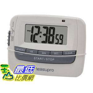 [104美國直購] MeasuPro CCT300 B00KAFQ81A 數位時鐘 計時器 碼錶 三報警類型設置 LED $787