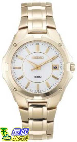 [103 美國直購 ShopUSA] Seiko 手錶 Men's SGEE62 Gold-Tone Dress Watch $3562