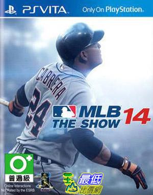 (刷卡價)PSV Vita PSV 美國職棒大聯盟14 MLB 14 THE SHOW 英文 (亞版)_AD2 $1148